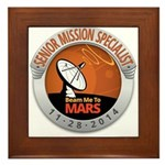 Sr Mission Specialist Framed Tile