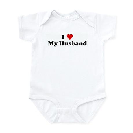 I Love My Husband Infant Bodysuit