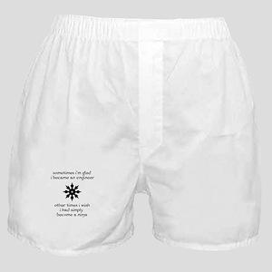 Ninja Engineer Boxer Shorts