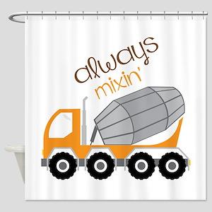 Always Mixin Shower Curtain