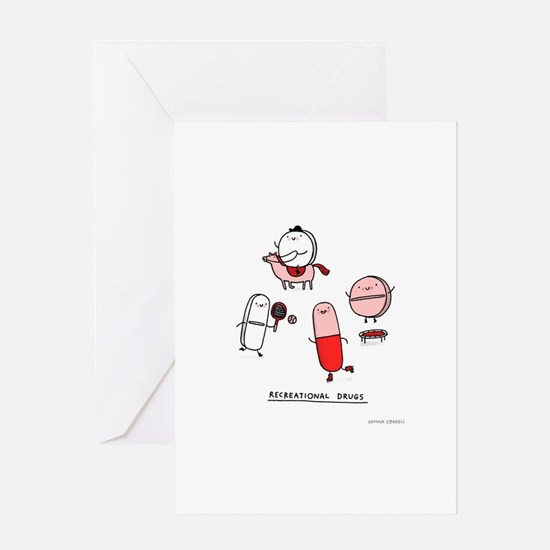 Recreational Drugs Greeting Cards