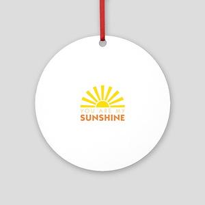 My Sunshine Ornament (Round)