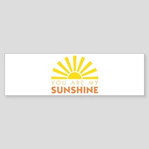 My Sunshine Bumper Sticker