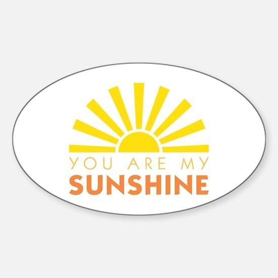My Sunshine Decal