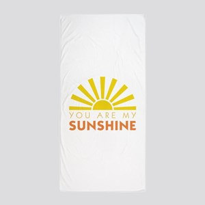My Sunshine Beach Towel