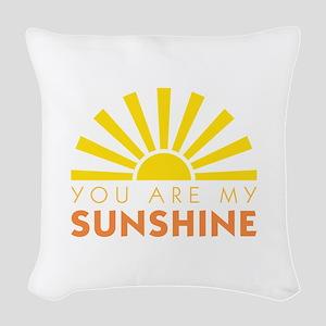 My Sunshine Woven Throw Pillow