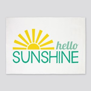 Hello Sunshine 5'x7'Area Rug