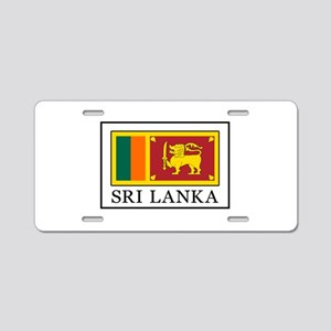 Sri Lanka Aluminum License Plate