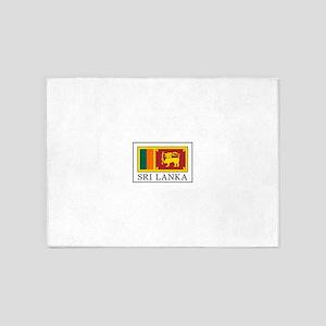 Sri Lanka 5'x7'Area Rug
