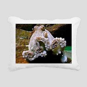 Octopus Tenticles Rectangular Canvas Pillow