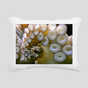 Tenticles Rectangular Canvas Pillow