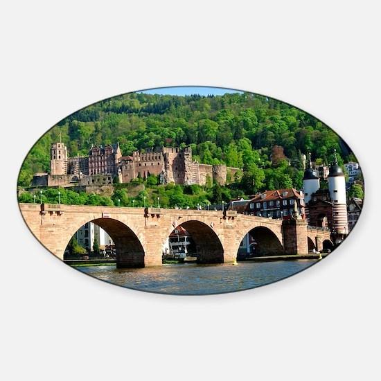 Cute Germany Sticker (Oval)
