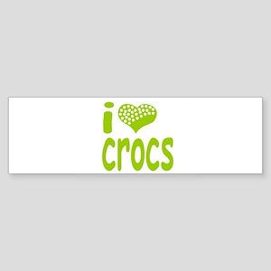 I love Crocs Bumper Sticker