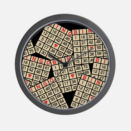Cute Bingo Wall Clock
