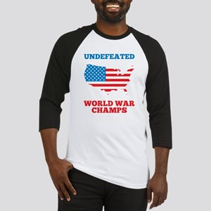 Undefeated World War Champs Baseball Jersey