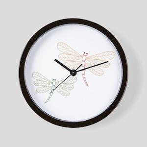 Dragonfly Bugs Wall Clock