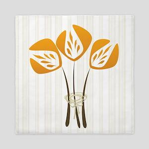 Art Deco Tulip Queen Duvet