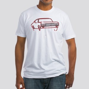 Little Red Wagon Fitted T-Shirt