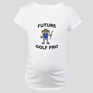 FIN-future-golf-pro-girl Maternity T-Shirt