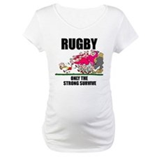 Rugby Survival Maternity T-Shirt