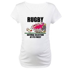 Rugby Natural Selection Maternity T-Shirt