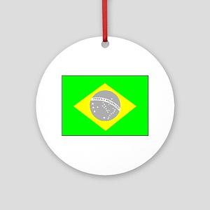 Brazilian Pride Ornament (round)