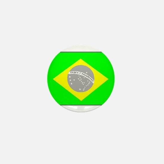 Brazilian Pride Mini Button