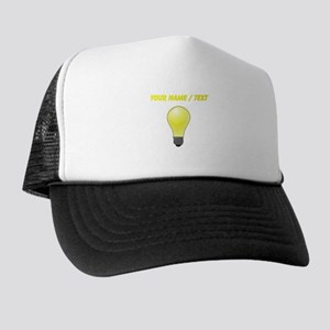 Custom Lightbulb Trucker Hat