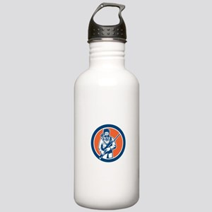 Davy Crockett American Frontiersman Water Bottle