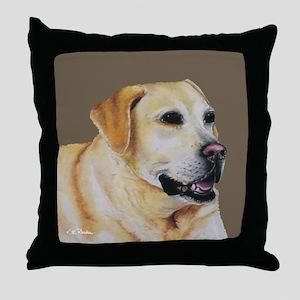 Yellow Lab Throw Pillow