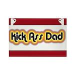 Kick Ass Dad Rectangle Magnet (100 pack)