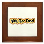 Kick Ass Dad Framed Tile