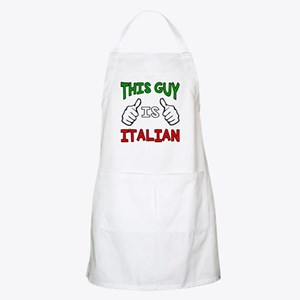 This guy is Italian Apron