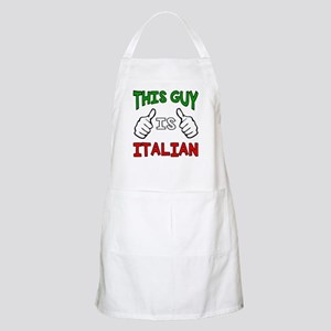 This guy is Italian Apron