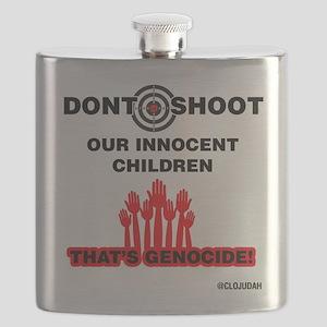 Don't Shoot Children Flask