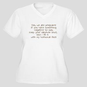 fist Plus Size T-Shirt