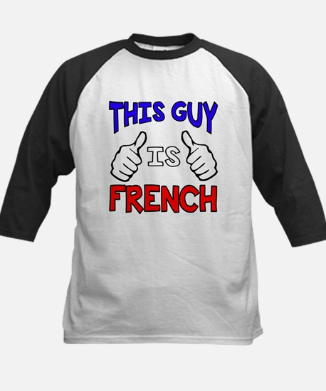 This guy is French Baseball Jersey