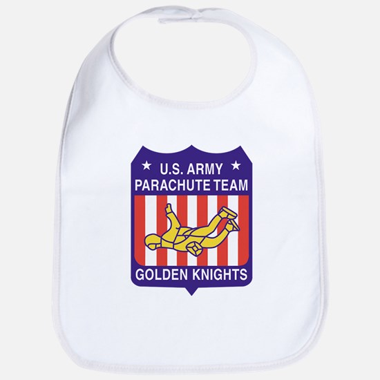 USArmy-parachute-team-pocket Baby Bib