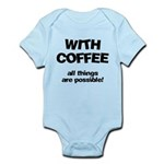 FIN-coffee-all-things-possible Infant Bodysuit