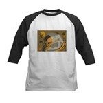 FIN-abstract-coffee Kids Baseball Jersey
