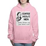 FIN-coffee-chocolate-men Women's Hooded Sweats