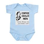 FIN-coffee-chocolate-men Infant Bodysuit