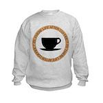 FIN-life-after-coffee Kids Sweatshirt