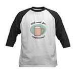 FIN-work-cappuccino Kids Baseball Jersey