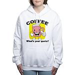 FIN-coffee-quota Women's Hooded Sweatshirt