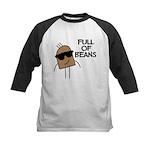 FIN-full-of-beans Kids Baseball Jersey