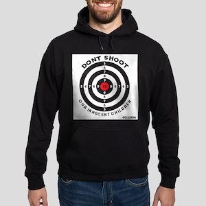 Don't Shoot Children Bullseye Hoodie