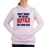 Buffalo Football Women's Hooded Sweatshirt