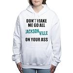 Jacksonville Football Women's Hooded Sweatshirt