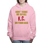 Kansas City Football Women's Hooded Sweatshirt